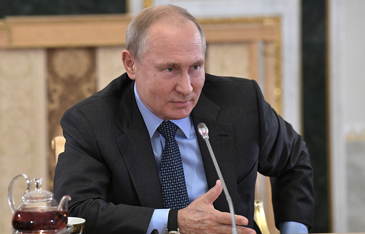 Putin says Russia hasn't meddled in US vote and never will
