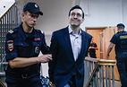 Александр Поткин перед оглашением приговора в Мещанском суде