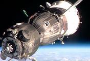 """Модуль """"Рассвет"""". Фото NASA TV"""