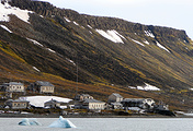Вид на один из островов архипелага Земля Франца-Иосифа.