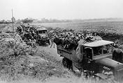 Доставка германских резервистов на фронт