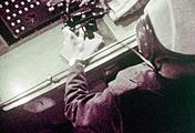 """Кадр из документального фильма """"Встреча на орбите"""""""