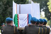 На церемонии прощания с президентом Узбекистана Исламом Каримовым