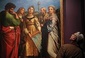 """Картина """"Экстаз Святой Цецилии со святыми Павлом, Иоанном Евангелистом, Августином и Марией Магдалиной"""