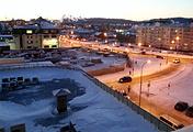 """Вид из окна гостиницы """"Олимпийская"""""""