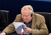 """Бывший лидер и основатель """"Национального фронта"""" Жан-Мари Ле Пен"""