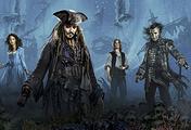 """Постер к фильму """"Пираты Карибского моря: Мертвецы не рассказывают сказки"""""""
