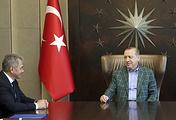 Министр обороны РФ Сергей Шойгу и президент Турции Реджеп Тайип Эрдоган