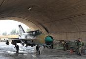 Истребитель МиГ-21 сирийских ВВС
