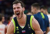 Сербский баскетболист Горан Драгич