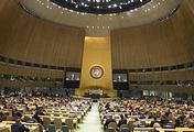 Заседание Генассамблеи ООН