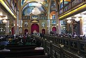 Поминальная молитва в христианском соборе Всех Святых-Небожителей в Шарм-эш-Шейхе