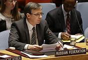 Заместитель постпреда РФ при ООН Евгений Загайнов