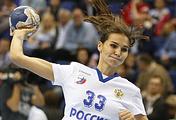 Игрок сборной России по гандболу Екатерина Ильина