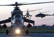 Вертолеты Ми-24