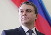 Исполняющий обязанности главы провозглашенной Луганской народной республики Леонид Пасечник