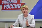 Сопредседатель предвыборного штаба Владимира Путина Елена Шмелева
