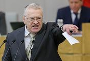 Лидер ЛДПР, член комитета Госдумы РФ по обороне Владимир Жириновский