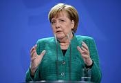 Лидер Христианско-демократического союза ФРГ Ангела Меркель