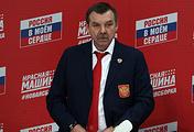 Главный тренер сборной России по хоккею Олег Знарок