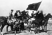 Части 1-ой Конной армии в походе, 1920 год