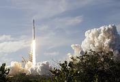 Запуск ракеты Falcon 9 компании SpaceX