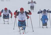 Соревнования лыжников-паралимпийцев