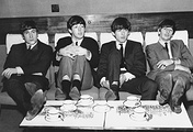 Джон Леннон, Пол Маккартни, Джордж Харрисон и Ринго Старр, 1963 год