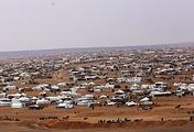 Лагерь для беженцев Рукбан в Сирии
