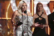 Леди Гага на вручении премии Grammy