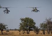 Вертолеты Ми-24 и Ми-35М