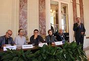 Пресс-конференция труппы Театра им. Евгения Вахтангова в Париже