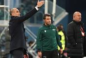 Главный тренер сборной Бельгии Роберто Мартинес (слева)