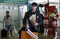 Вратарь российской сборной по хоккею Андрей Василевский