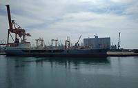 "Фрегат ""Адмирал Макаров"" в порту Тартус"