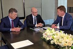 Дмитрий Козак, Сергей Кириенко и Дмитрий Овсянников