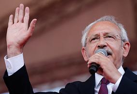 Лидер главной силы турецкой оппозиции, Республиканской партии, Кемаль Кылычдароглу
