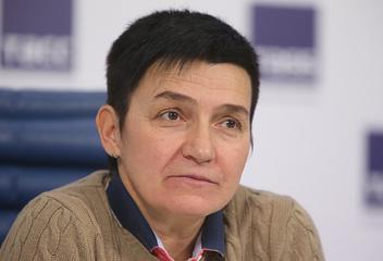 Главный тренер паралимпийской сборной России по лыжным гонкам и биатлону Ирина Громова