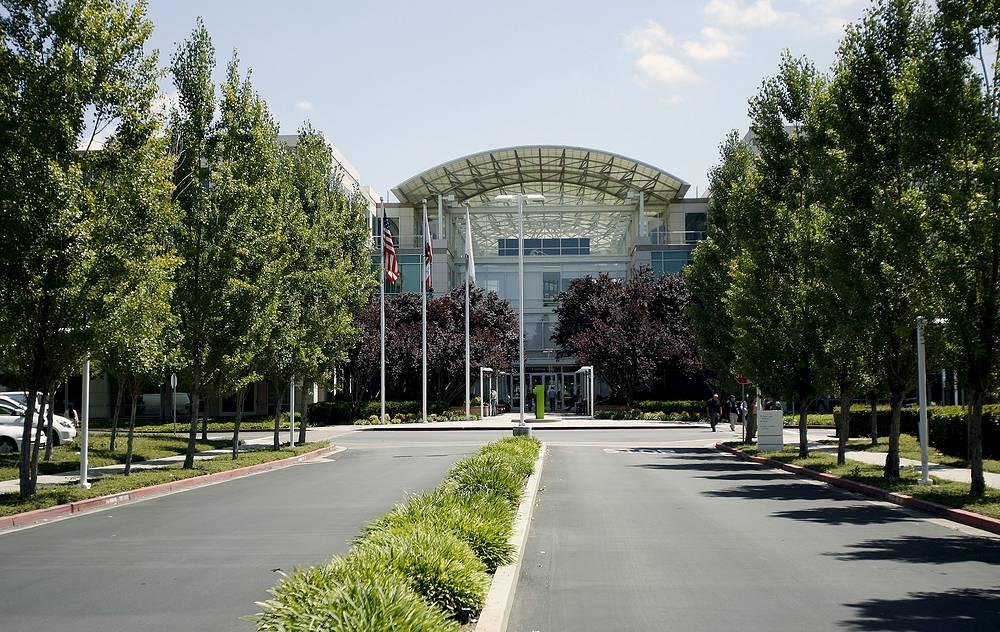 Действующая штаб-квартира Apple в Купертино