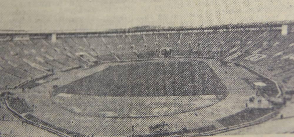 Стадион Лужники в день открытия, 25 июля 1956