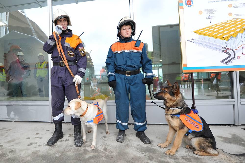 Испытания нового терминала аэропорта Пулково