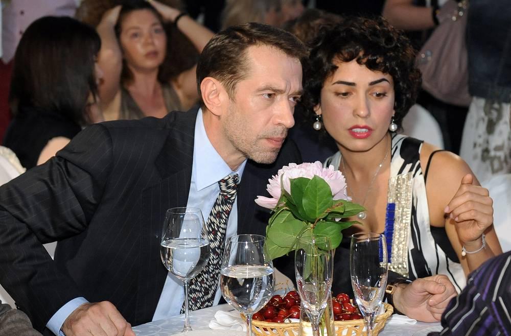 Владимир Машков с супругой Оксаной Шелест