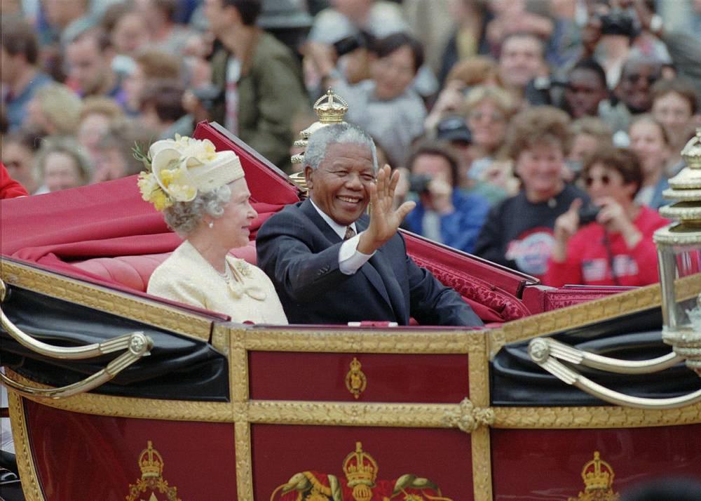 Визит Нельсона Манделы в Великобританию, 1996 г.