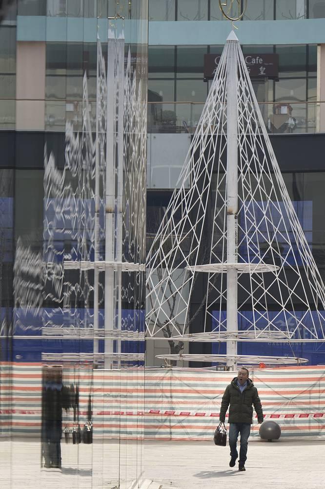 Рождественская ель в Пекине