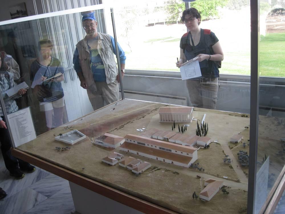 Проект восстановления храма Зевса в Немее