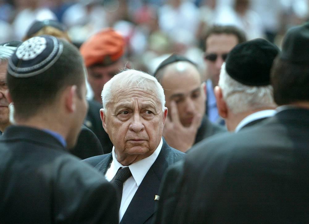 Премьер-министр Израиля Ариэль Шарон, 26 апреля 2004 г.