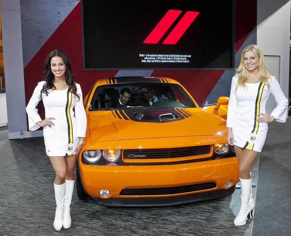 Презентация Dodge Challenger Hemi Shaker
