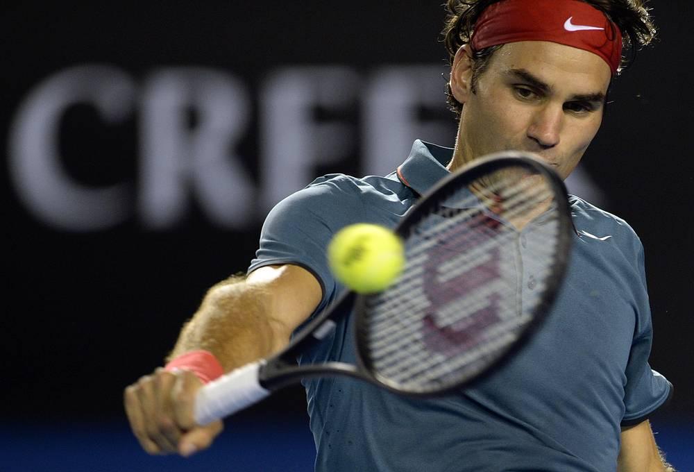Швейцарец Роджер Федерер