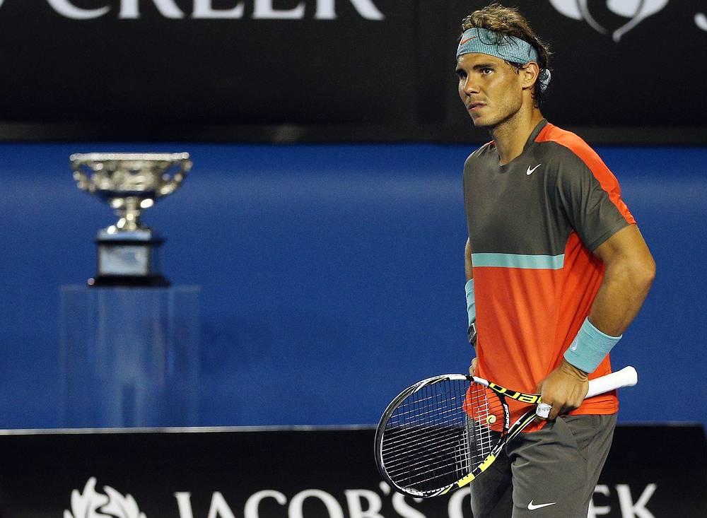 Надалю не удалось во второй раз в карьере победить на Australian Open