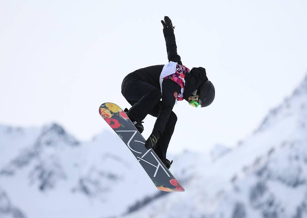 Норвежская сноубордистка Силье Норендаль